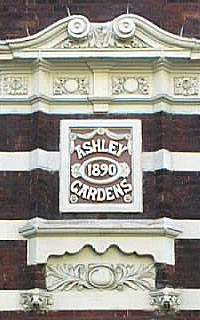 Ashley Gardens Sign 1890