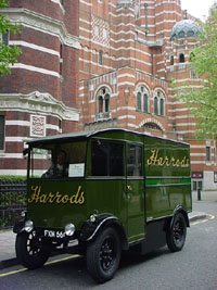Harrods delivery